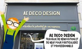 creation site internet AE DECO Design