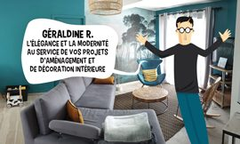 apercu creation site internet GERALDINE R