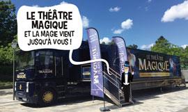 creation site internet Le Theatre Magique