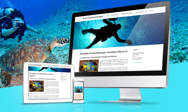 creation site internet ANSE CARAIBE