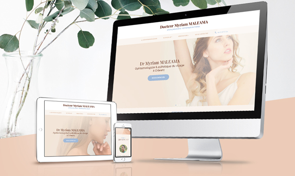creation site internet Dr MALEAMA