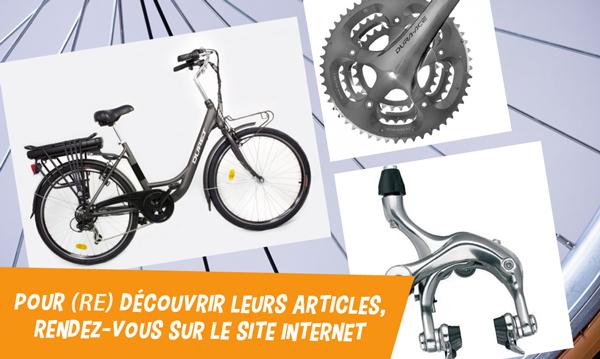 creation site internet velos cycles DURET GELIANO