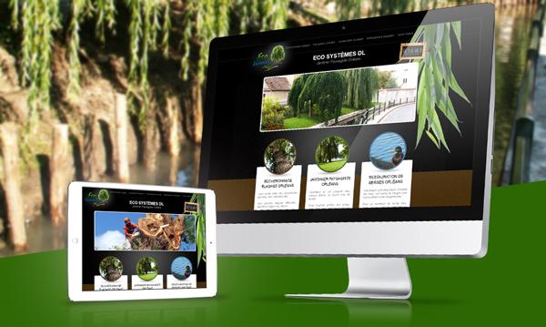 creation site internet ECOsystemesDL
