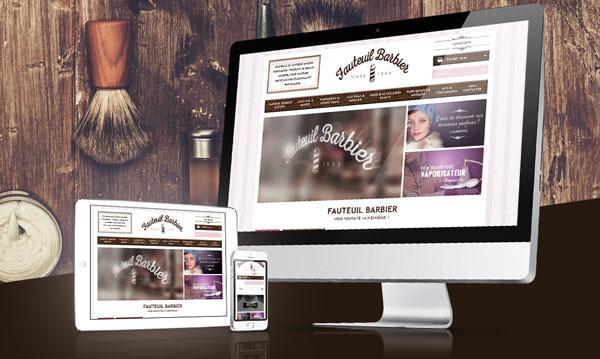creation site internet FAUTEUILBARBIER