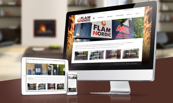 creation site internet FLAMNORDIC