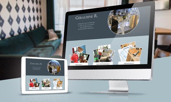creation site internet GERALDINE R