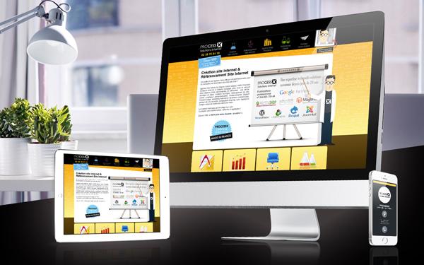 creation site internet - flash info