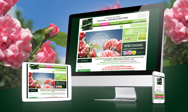 creation site internet PEPINIERES RAFFARD