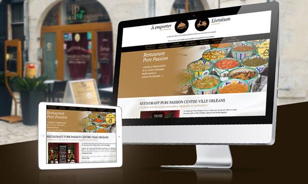 creation site internet PUREPASSION