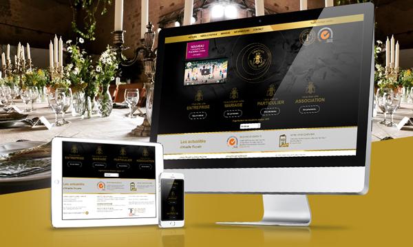 creation site internet TRAITEUR Abeille Royale